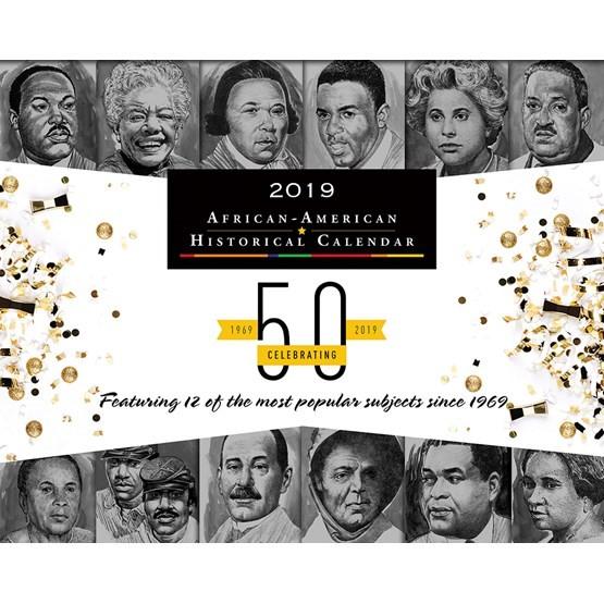 BlackFacts.com Black History Calendar - 2019